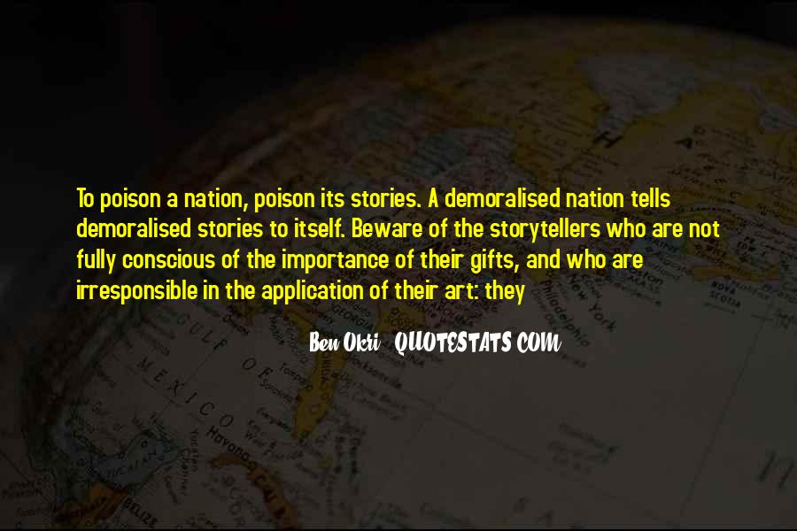 Ben Okri Quotes #327270