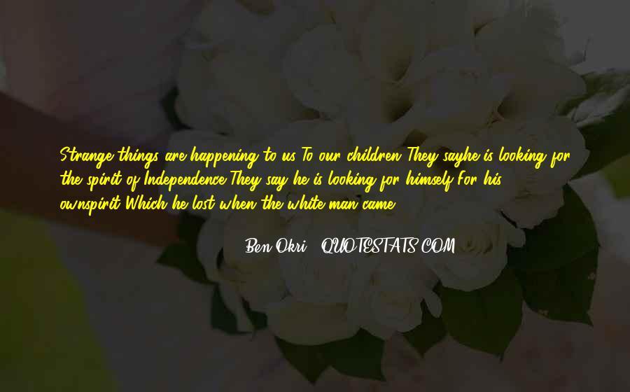 Ben Okri Quotes #474602