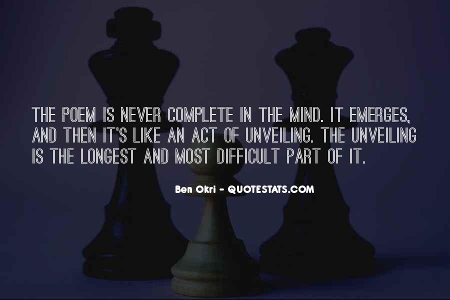 Ben Okri Quotes #595383