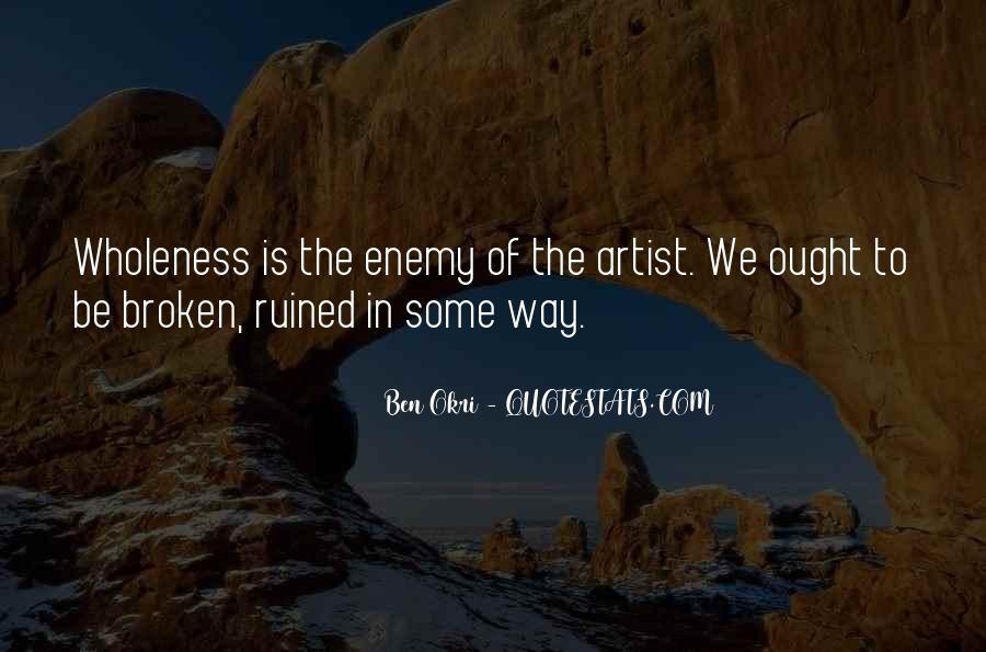Ben Okri Quotes #623679