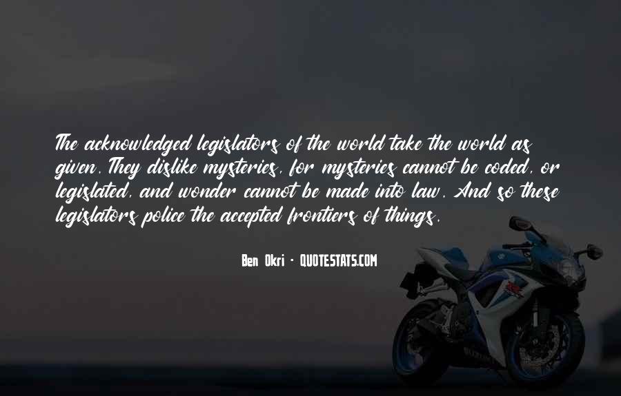 Ben Okri Quotes #740475