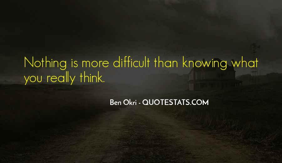 Ben Okri Quotes #833046