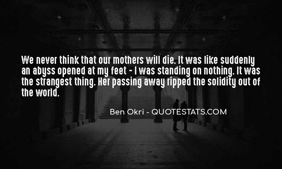 Ben Okri Quotes #961683