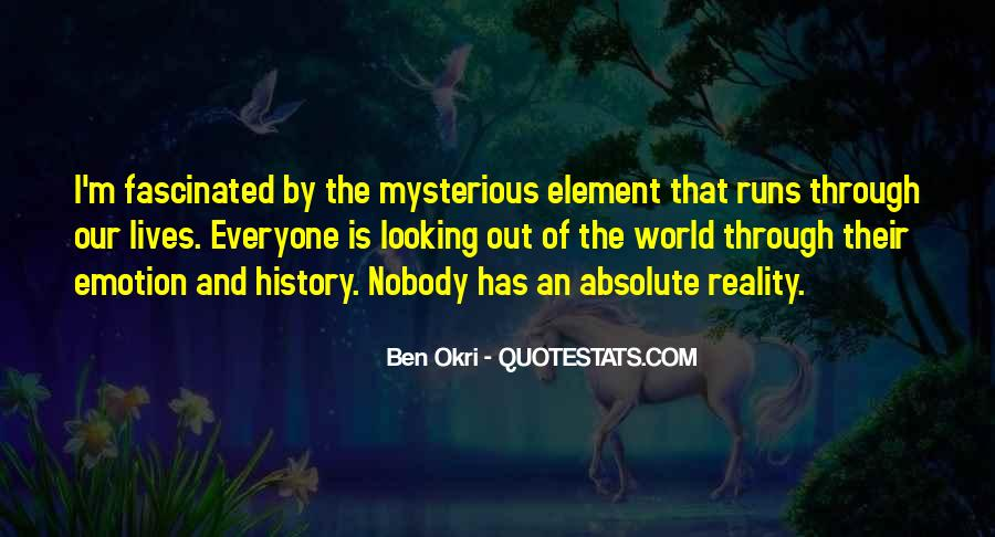 Ben Okri Quotes #994778