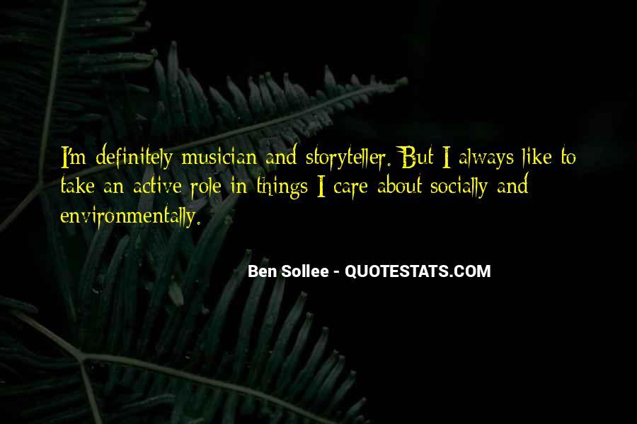 Ben Sollee Quotes #48836
