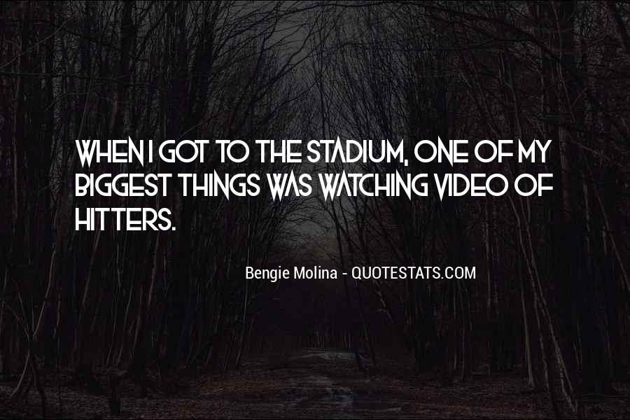 Bengie Molina Quotes #474464