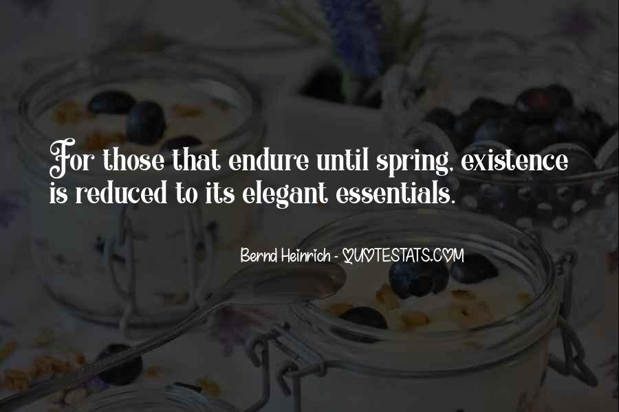 Bernd Heinrich Quotes #337015