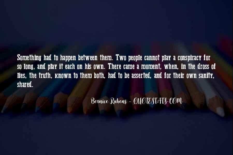 Bernice Rubens Quotes #897855