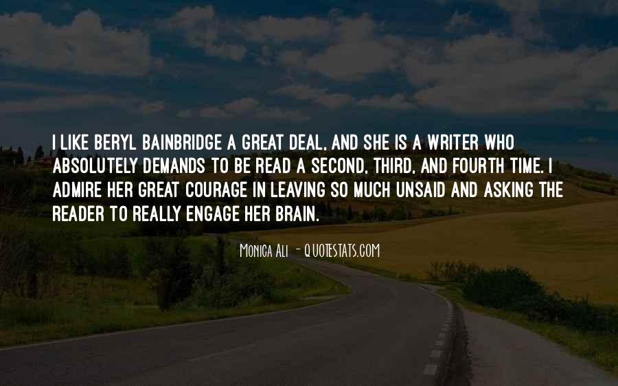 Beryl Bainbridge Quotes #1467925