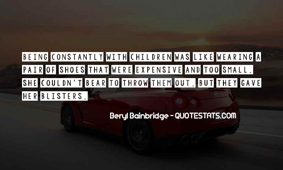 Beryl Bainbridge Quotes #414873