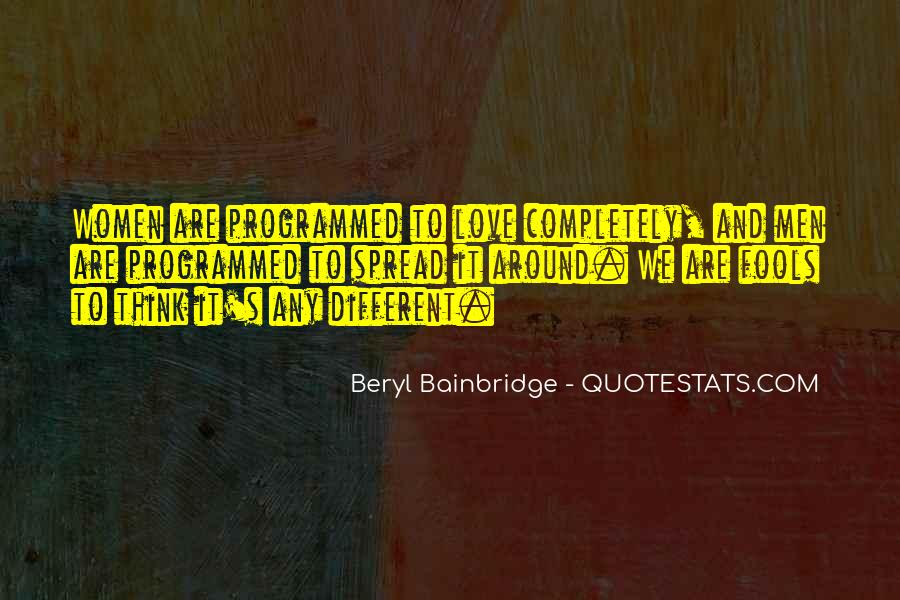 Beryl Bainbridge Quotes #839556