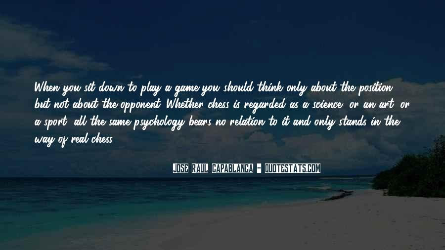 Quotes About Sport Psychology #428209