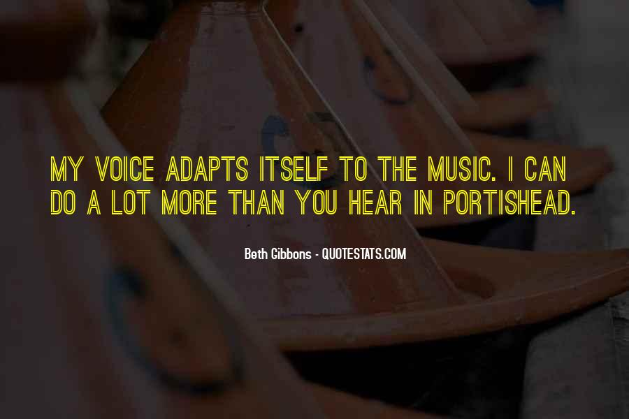 Beth Gibbons Quotes #1548667