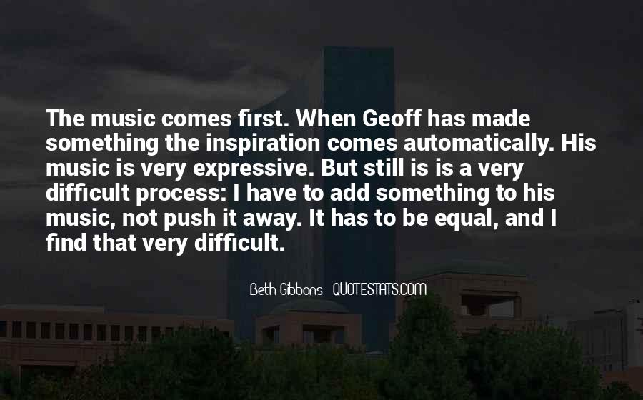 Beth Gibbons Quotes #631064