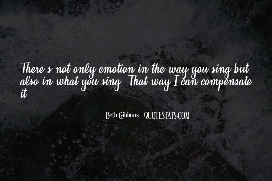 Beth Gibbons Quotes #658320