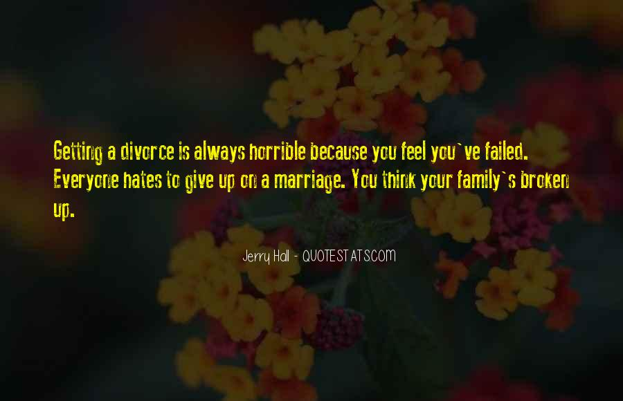 Quotes About Horrible Family #1561050