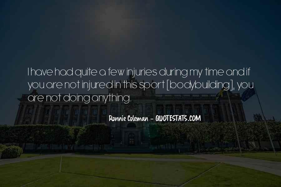 Quotes About Sport Injuries #1707861