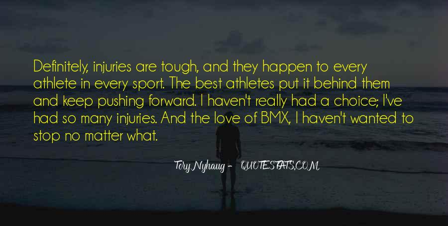 Quotes About Sport Injuries #224362