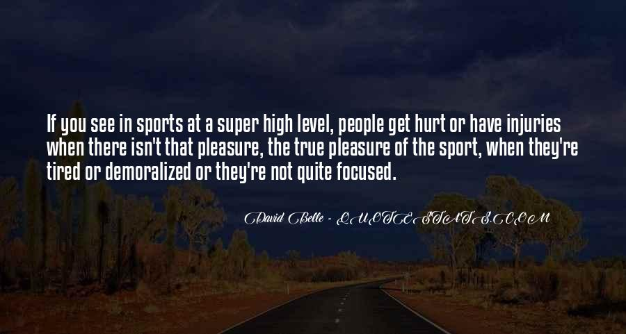 Quotes About Sport Injuries #502351