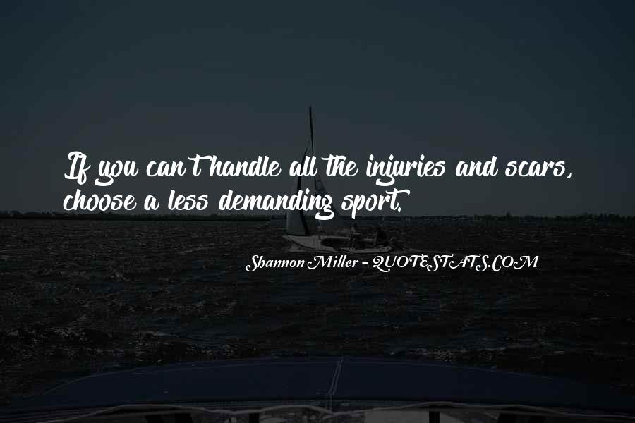Quotes About Sport Injuries #625609