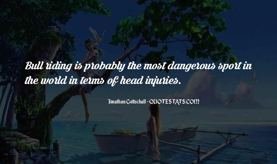 Quotes About Sport Injuries #83521