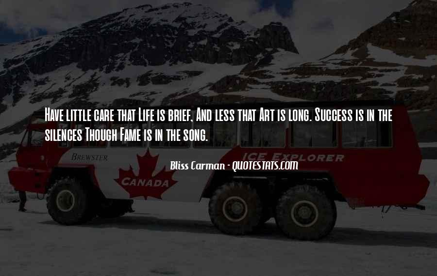 Bliss Carman Quotes #828449