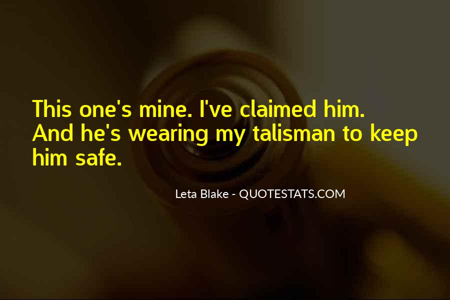 Quotes About Talisman #1280173