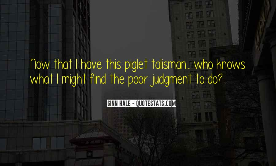 Quotes About Talisman #162155