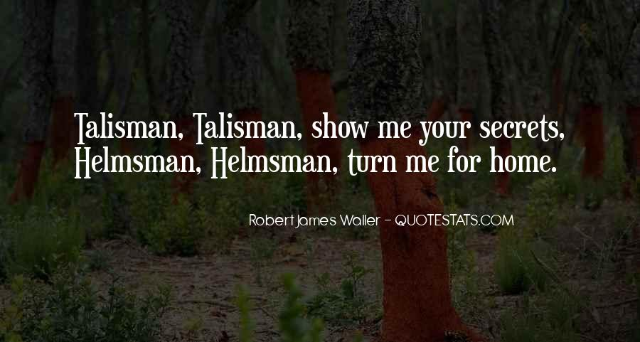 Quotes About Talisman #1767474