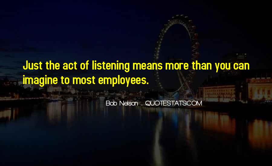 Bob Nelson Quotes #180145