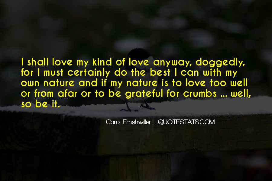 Quotes About Love Anyway #209196