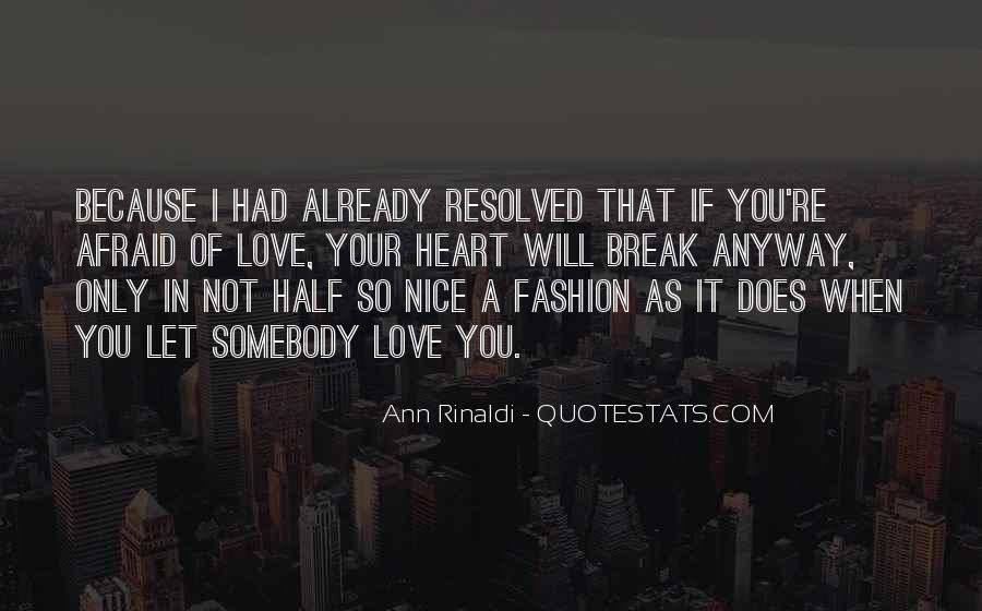 Quotes About Love Anyway #279521