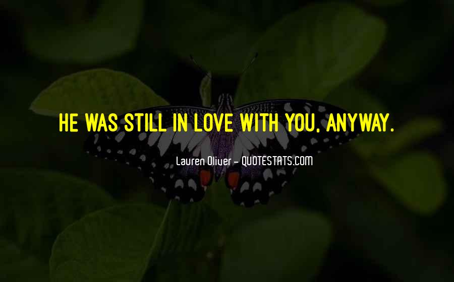 Quotes About Love Anyway #310976