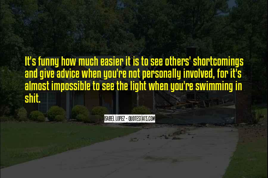 Quotes About Swimming Funny #681747