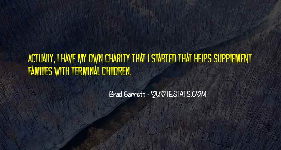 Brad Garrett Quotes #1547141