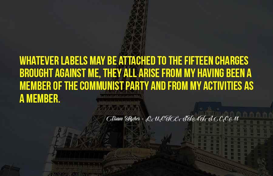 Bram Fischer Quotes #1745987