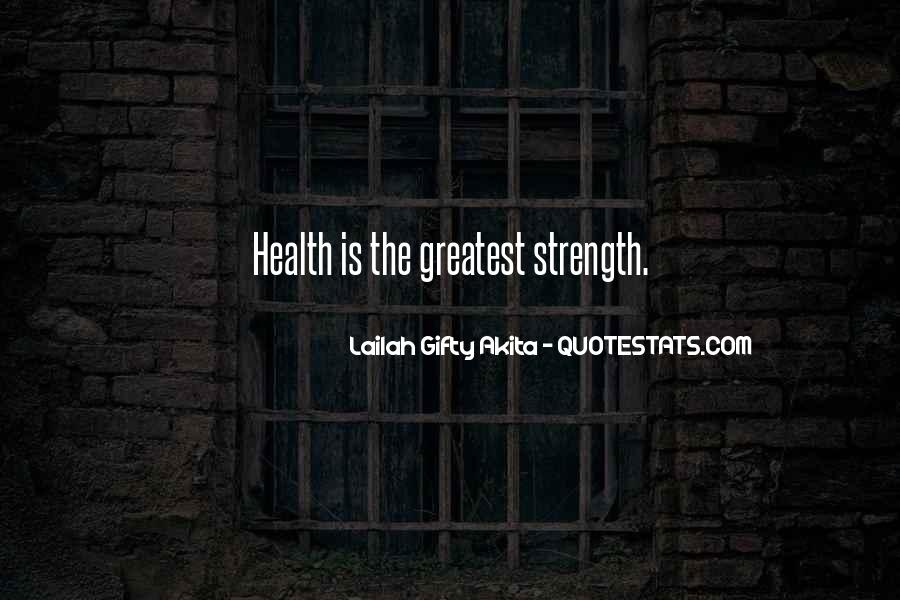 Quotes About Sport And Health #467431