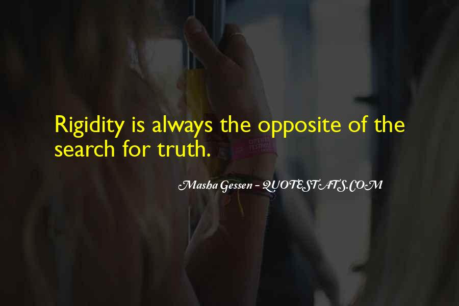 Quotes About Rigidity #947442