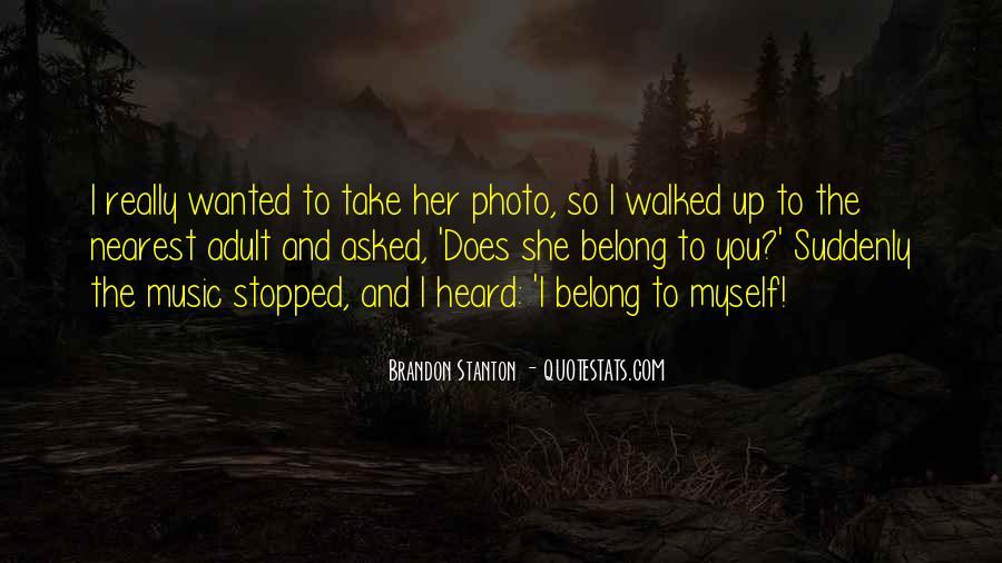 Brandon Stanton Quotes #1080306