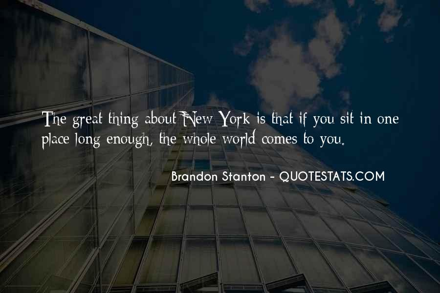 Brandon Stanton Quotes #316189