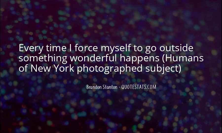 Brandon Stanton Quotes #357057