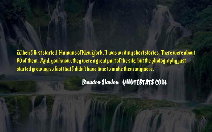Brandon Stanton Quotes #419186