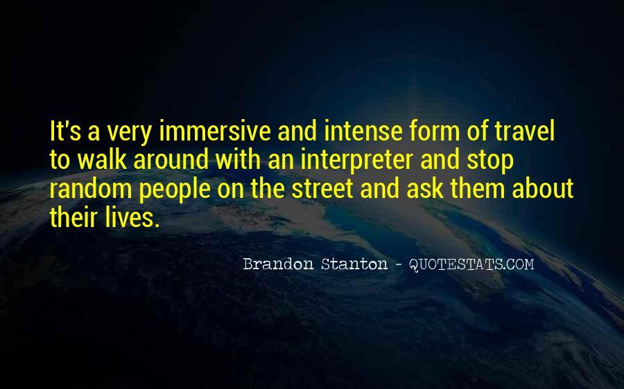 Brandon Stanton Quotes #687782