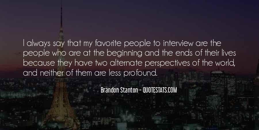 Brandon Stanton Quotes #703469