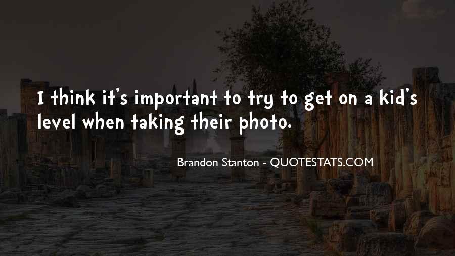 Brandon Stanton Quotes #730281