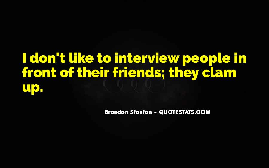 Brandon Stanton Quotes #81678