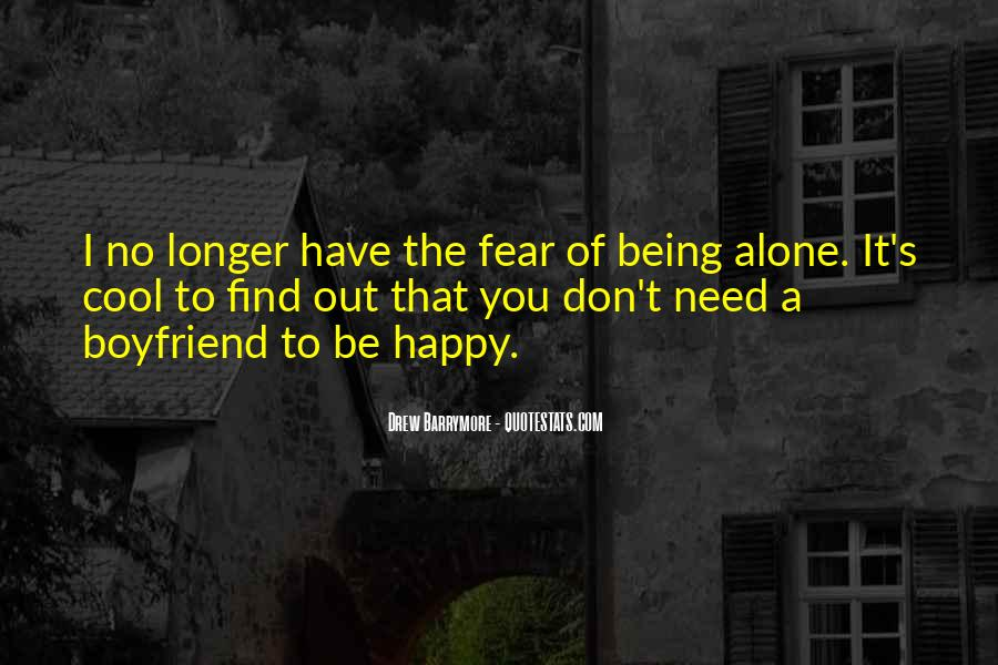 Quotes About Being Alone Happy #803138