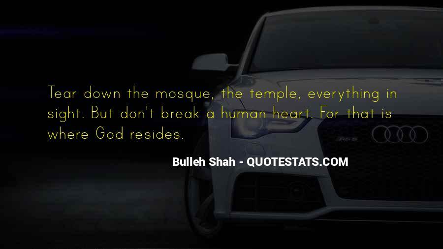 Bulleh Shah Quotes #1539470