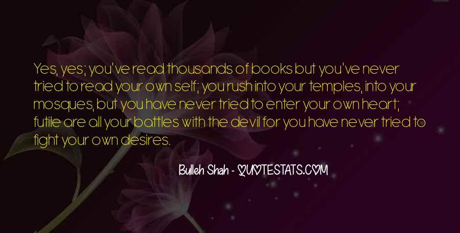 Bulleh Shah Quotes #538116