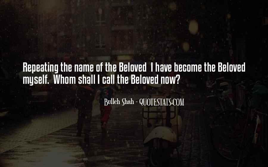 Bulleh Shah Quotes #873509